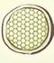 蜂の巣構造 図