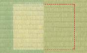 従来のイグサの変色画像